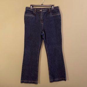 Doncaster Sport high rise straight leg jeans 12